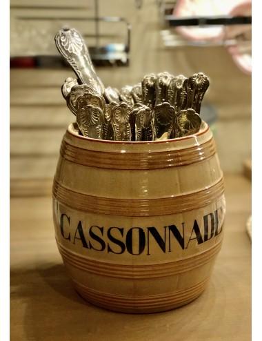 Koffiepot / koffiekan - Société Céramique Maestricht - bruidsdecor van geschilderde roosjes en bloemetjes