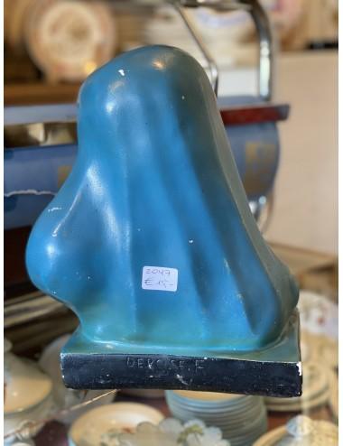 Ontbijtbordje – Société Céramique – decornummer 2390 (ca. 1930) met goudrandje.