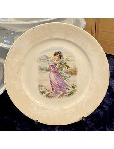 Ringstand groen persglas.