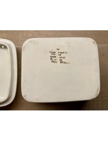 Bordje – decor Horoscopes in bruin – Weegschaal: La Balance – met tekst.