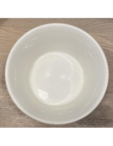 Schaal - ovaal - Boch La Louvière - décor GRAND BOUQUET blauw