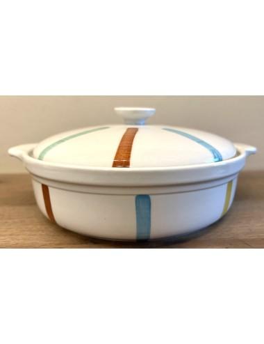 Bordje - Boch Frères Kéramis - décor 'Le Billet doux'