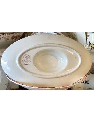 Soepterrine - Manufacture Impériale Nimy - crème aardewerk - model UTRECHT