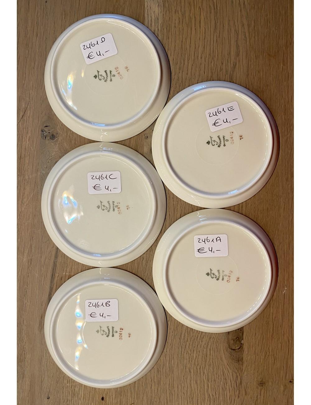 Koffiefilter / Schnellfilter / filtra da caffè / filtre à café - 102 - MELITTA - geheel BRUIN / HONING kleur van binnen en buite