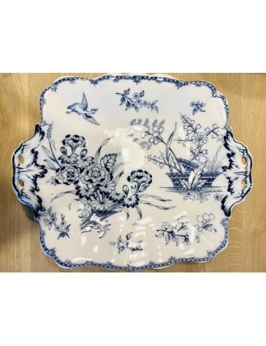 Diep bord / soepbord - Villeroy & Boch - décor ELBE vloeiblauw