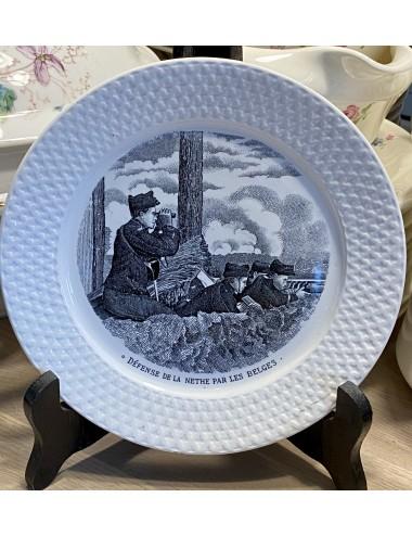 Dinerbord - Villeroy & Boch - décor INGO vloeiblauw / blauw