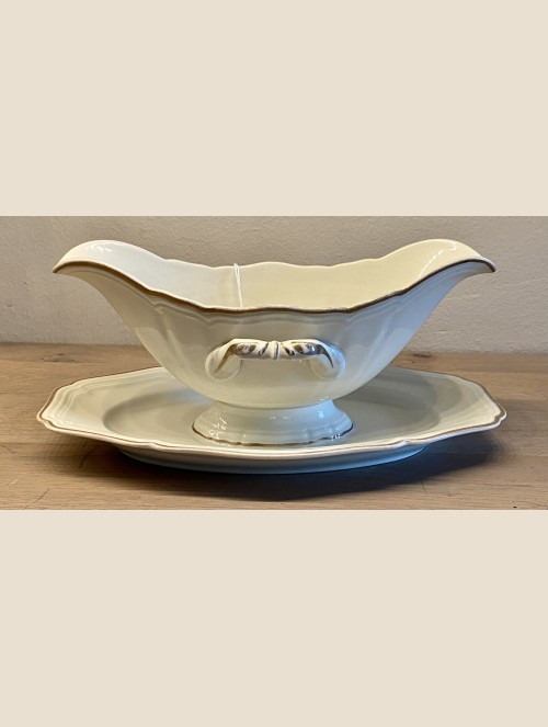 Juskom / sauce boat / saucière - Rosenthal (Bavaria) - IVORY (ca. 1939 - 1956)