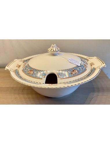 Bord - Lockett & Sons, Longton (L&S) - décor CANOVIAN rood-roze