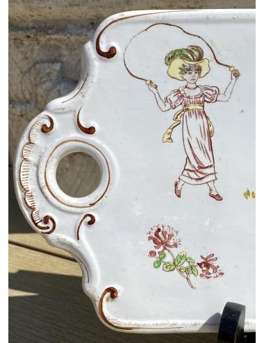 Koffiepot – maker onbekend – geschilderd merkje 2650.