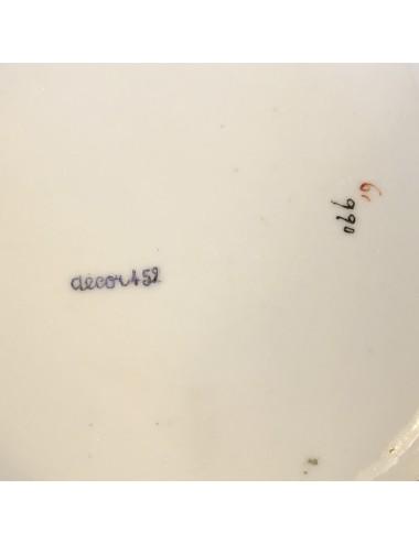 Messenleggers azuurblauw in hun originele doosje met sticker van de fabriek erop) - Coceram