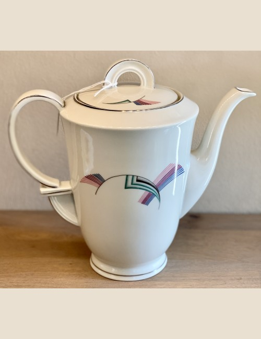 Koffiepot - porselein - EPIAG Czechoslovakia - Art Deco model