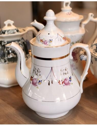 Koffiekan - MOSA - model FLORA - (1950 - 1966) - pastelgroene pot