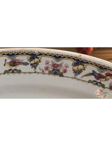 Messen – 12 stuks in blauwe doos – verzilverd? Of zilver? – gemerkt met een S met drietand en een kandelaar en '30' - Art Nouvea